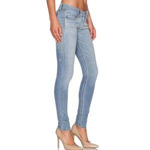 Rag & Bone light blue mid rise skinny jeans